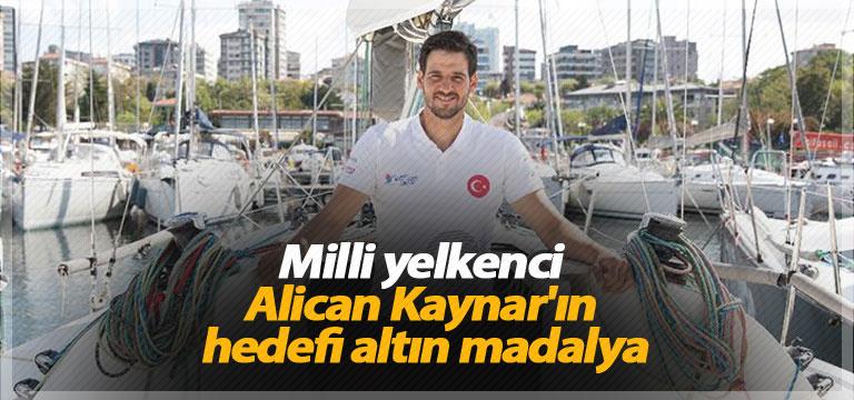 Milli yelkenci Alican Kaynar'ın hedefi altın madalya