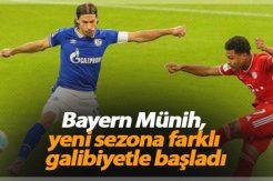 Bayern Münih, yeni sezona farklı galibiyetle başladı