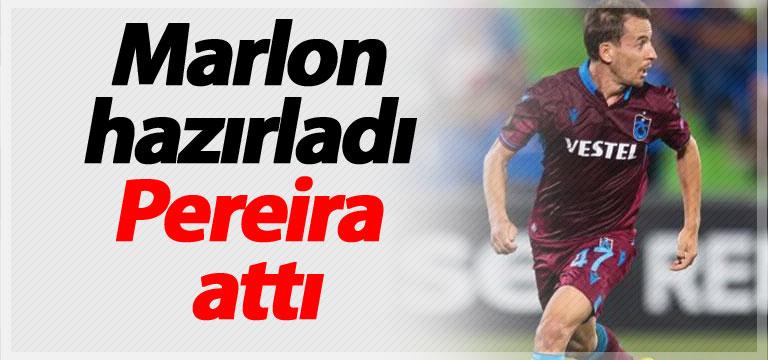 Marlon hazırladı Pereira attı