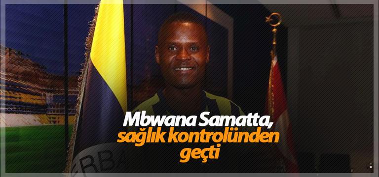 Mbwana Samatta, sağlık kontrolünden geçti