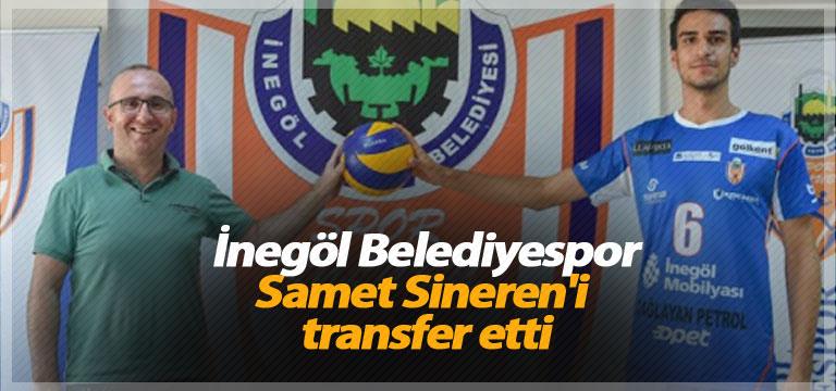 İnegöl Belediyespor Samet Sineren'i transfer etti