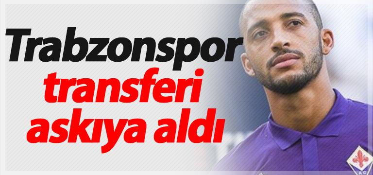 Trabzonspor transferi askıya aldı