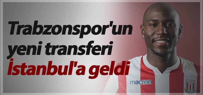 Trabzonspor'un yeni transferi İstanbul'a geldi