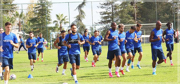 Trabzonspor'da eksikler dönüyor