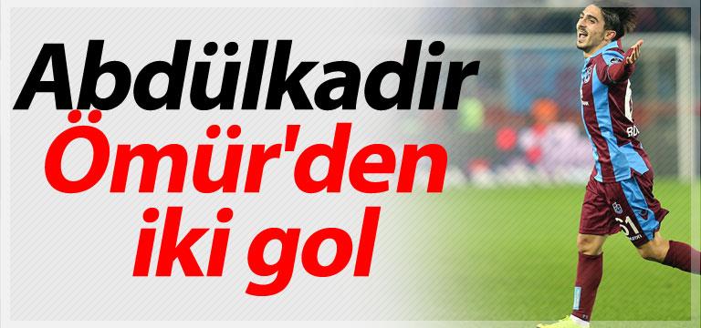 Abdülkadir Ömür'den iki gol