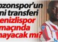 Trabzonspor'un yeni transferi Denizlispor maçında oynayacak mı?