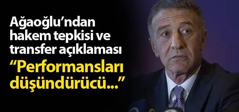 Ahmet Ağaoğlu oynanan futboldan memnun mu?