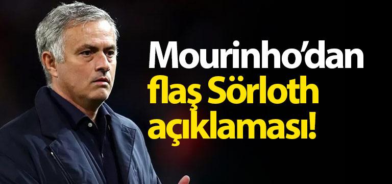 Mourinho'dan flaş Alexander Sörloth açıklaması
