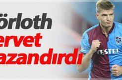 Alexander Sörloth'dan Trabzonspor'a servet