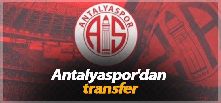 Antalyaspor'dan transfer
