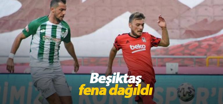 Beşiktaş fena dağıldı