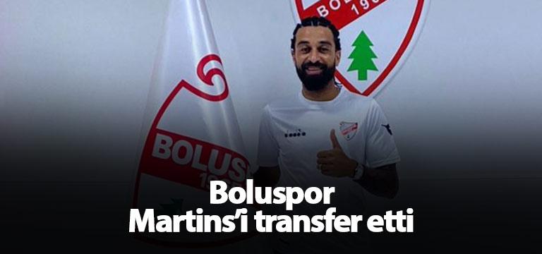 Boluspor Martins'i kadrosuna kattı