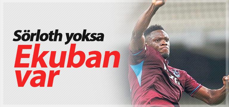 Trabzonspor'da gol silahı Caleb Ekuban