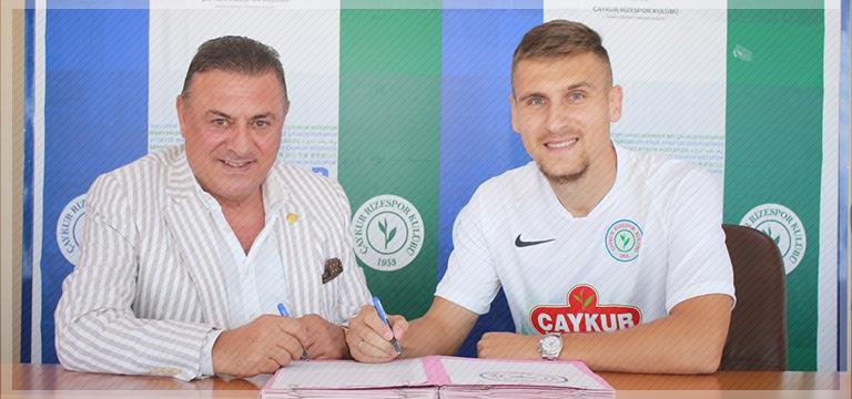 Çaykur Rizespor'dan transfer! Emir Dilaver…