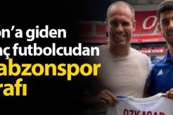Cenk Özkaçar açıkladı: Trabzonspor ile görüştüm