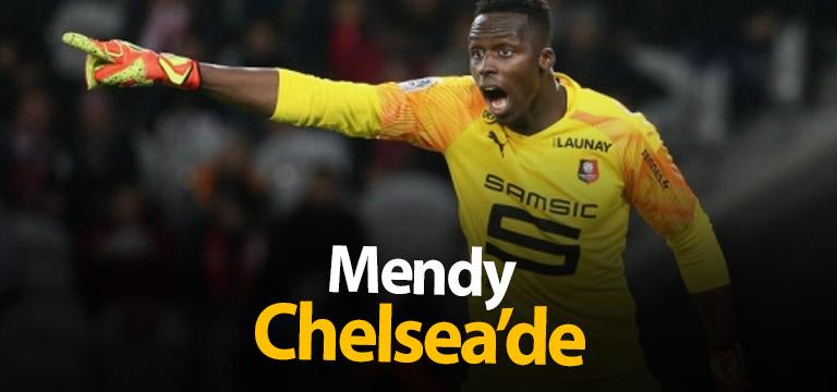 Chelsea Mendy'i kadrosuna kattı