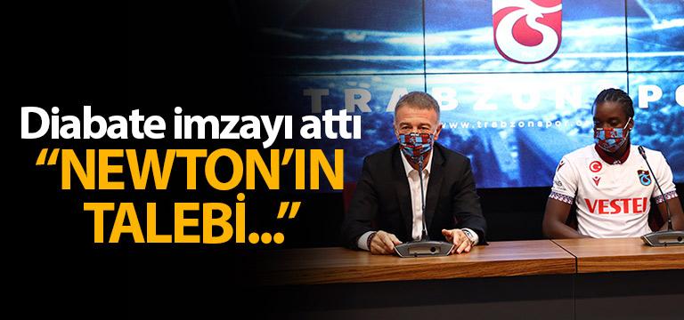 Fousseni Diabate Trabzonspor'a imzayı attı