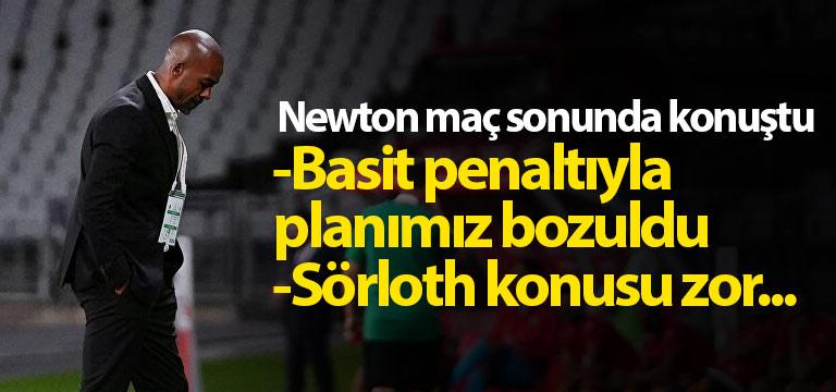 Eddie Newton: Oyun planımız bozuldu