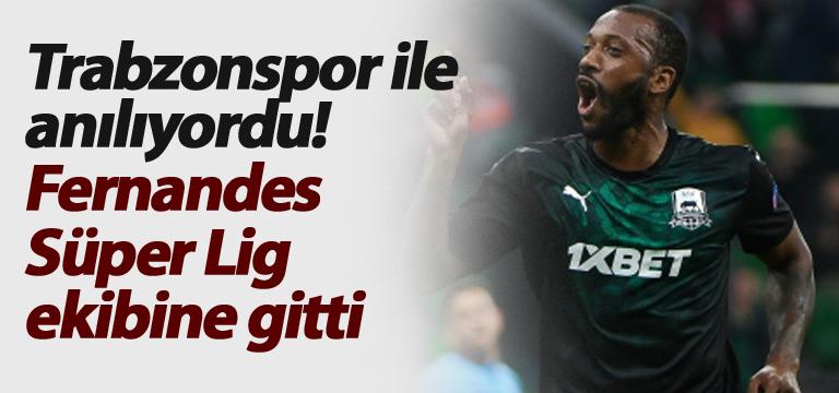 Trabzonspor ile anılıyordu! Fernandes Süper Lig ekibine gitti