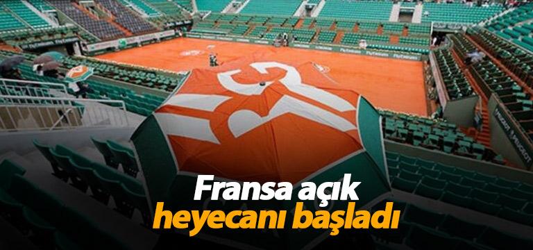 Teniste heyecan başladı