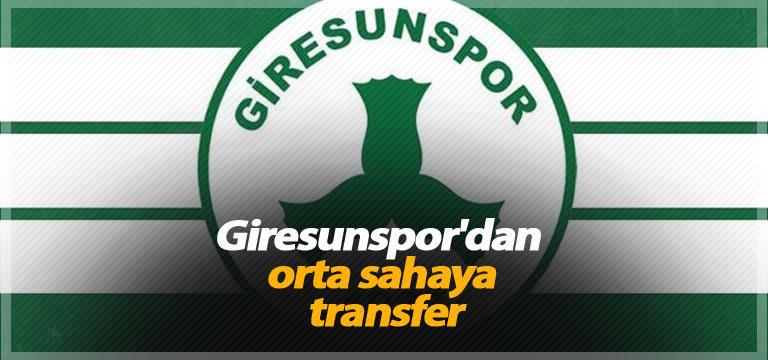 Giresunspor'dan orta sahaya transfer