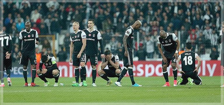 Beşiktaş penaltılarla Avrupa'ya veda etti