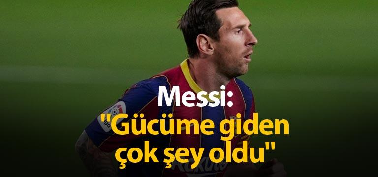 Lionel Messi: Rahatsız olan kulüp üyeleri varsa…