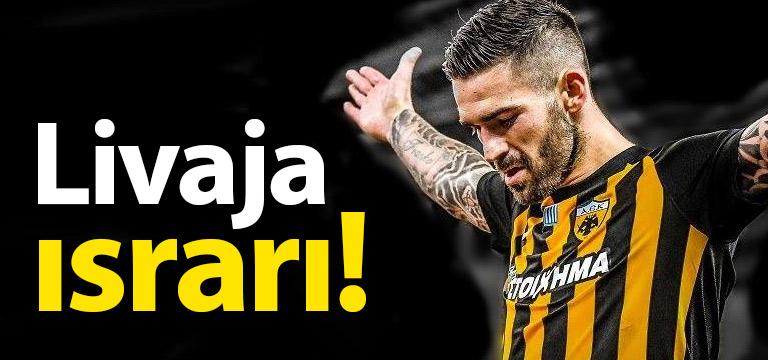 Trabzonspor Livaja'dan vazgeçmedi!