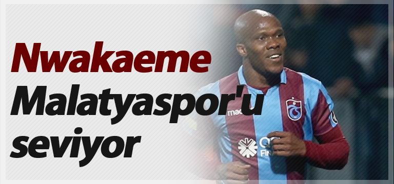 Nwakaeme Malatyaspor'u seviyor