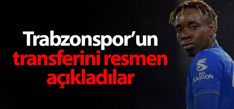 İngilizler Trabzonspor'un transferini açıkladı