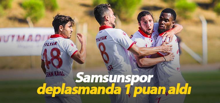 Samsunspor Bandırmaspor ile puanları paylaştı