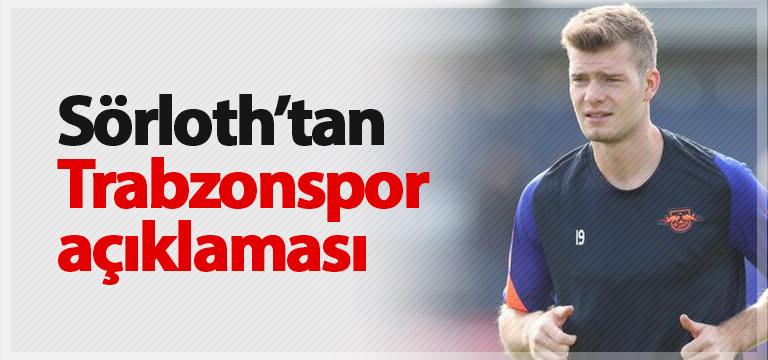 Sörloth'tan Trabzonspor açıklaması