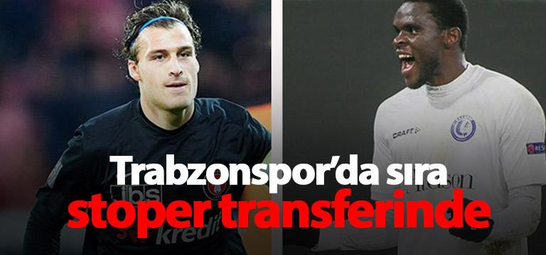 Trabzonspor gündem stoper transferi
