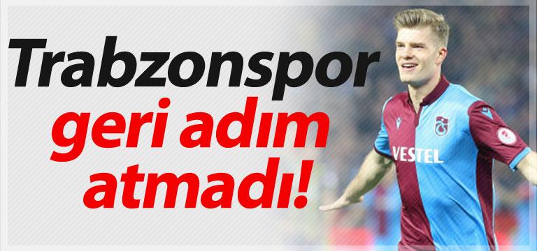 Trabzonspor geri adım atmadı!