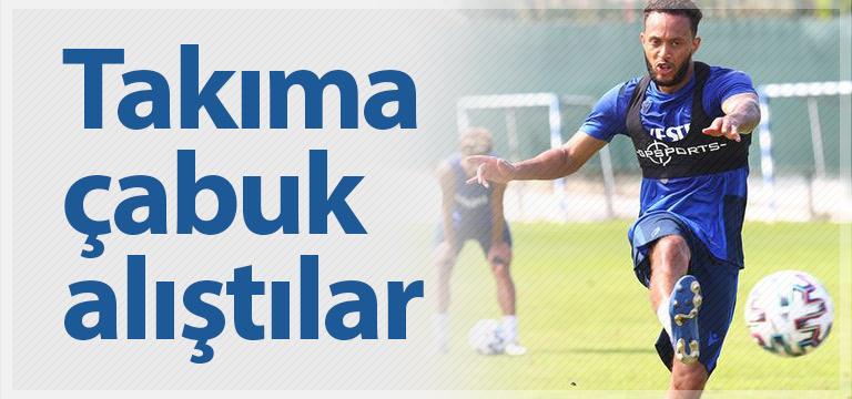 Trabzonspor'da Afobe ve Baker çabuk alıştı