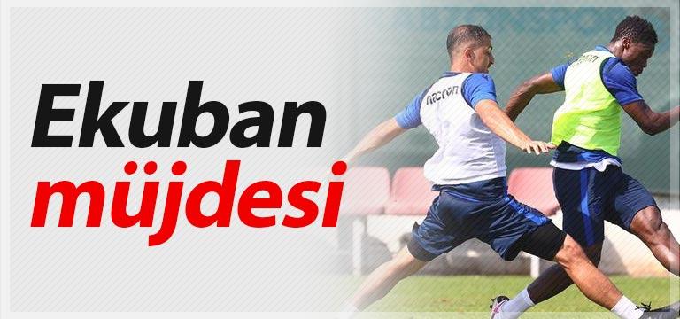 Trabzonspor'a Caleb Ekuban'dan müjde