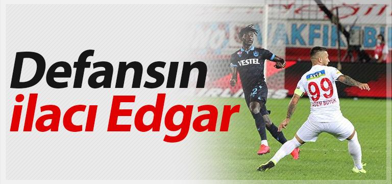 Trabzonspor'da defansın ilacı Edgar