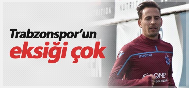 Trabzonspor'da maç öncesi eksik çok