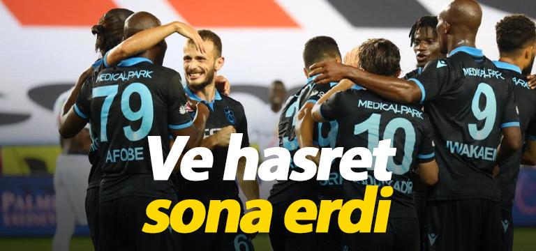 Trabzonspor Akyazı'daki hasreti bitirdi