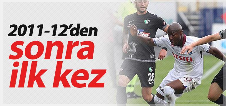 Trabzonspor yıllar sonra yine aynısını yaşadı
