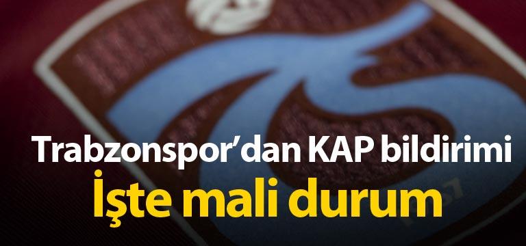 Trabzonspor borçları açıkladı