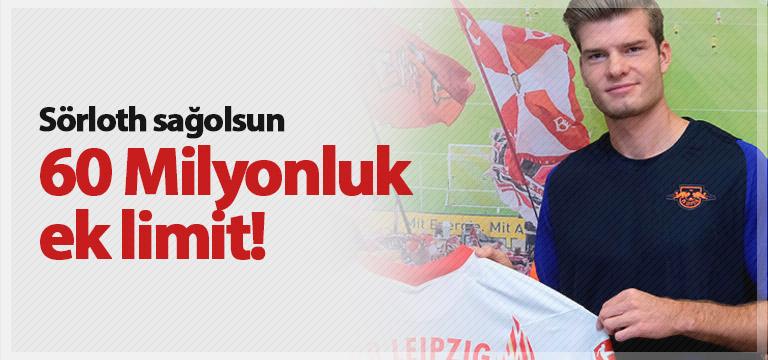 Trabzonspor'un Sörloth sayesinde limiti arttı