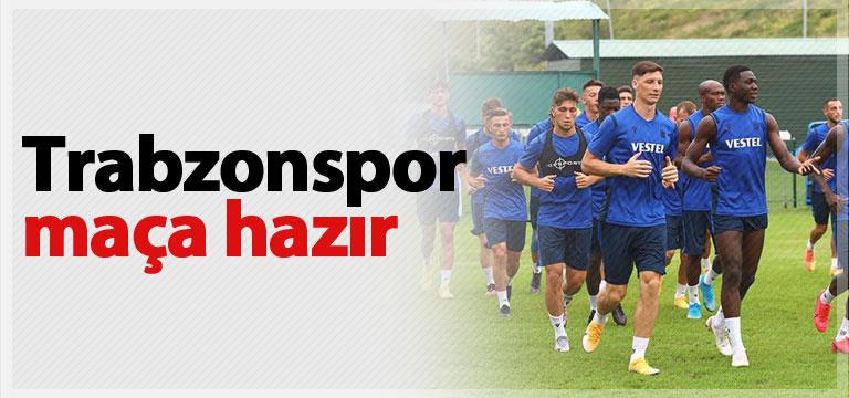Trabzonspor Beşiktaş maçına hazır