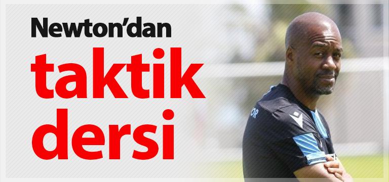 Trabzonspor'da Newton ders veriyor