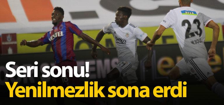 """Trabzonspor'un """"büyük"""" serisi bitti"""