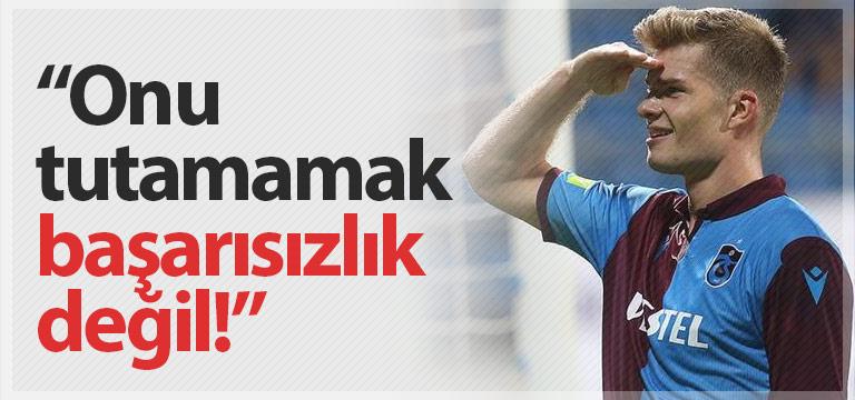 """Sörloth Trabzonspor tarihinin en önemli transfer başarısı"""