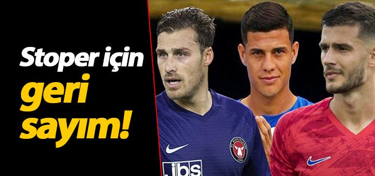 Trabzonspor'da stoper için geri sayım!