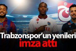 Trabzonspor'un yeni transferleri imza attı