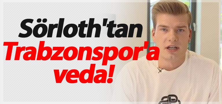 Sörloth'tan Trabzonspor'a veda!
