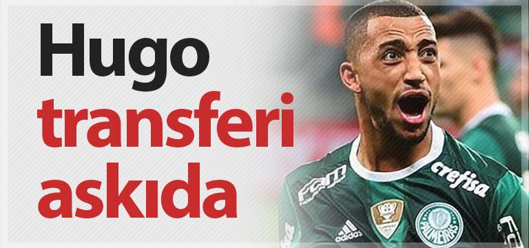 Trabzonspor'da Vitor Hugo beklemeye alındı